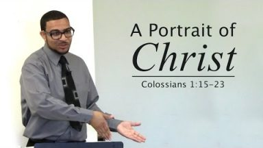 A Portrait of Christ – Bradon Davison