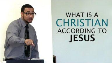 What is a Christian According to Jesus – Brandon Davison