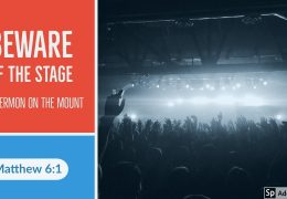 Beware of the Stage – Tawfiq Cotman-El